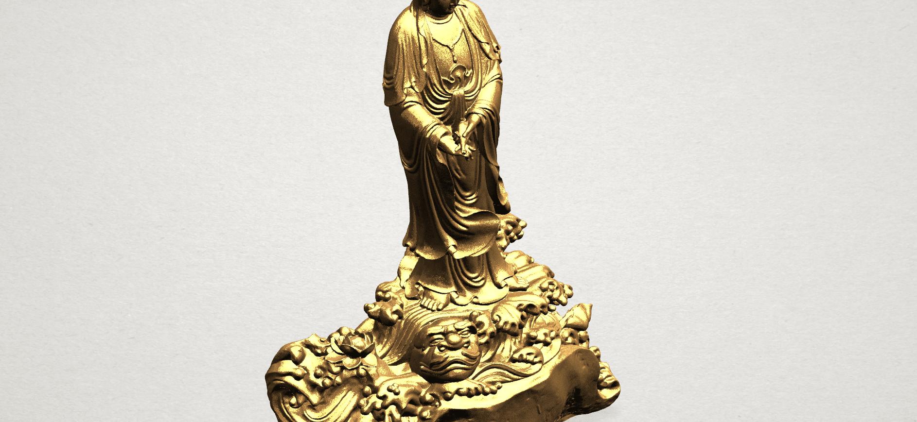 Avalokitesvara Buddha - Standing (ii) A09.png Download free STL file Avalokitesvara Bodhisattva - Standing 02 • Design to 3D print, GeorgesNikkei