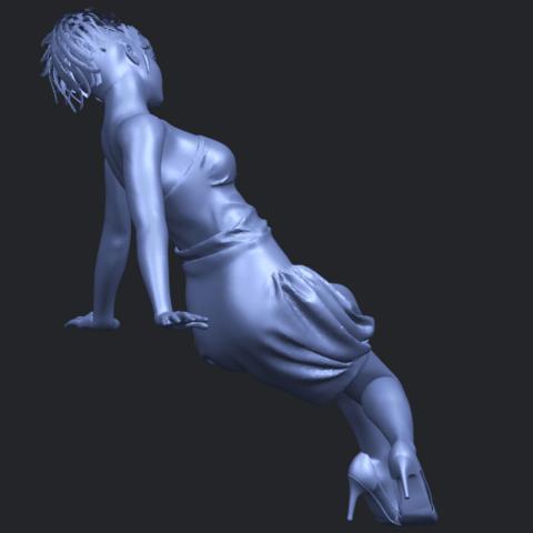 19_TDA0661_Naked_Girl_G09B08.png Télécharger fichier STL gratuit Fille nue G09 • Design pour impression 3D, GeorgesNikkei