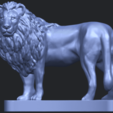 02_TDA0313_Lion_(iii)B01.png Download free STL file Lion 03 • 3D printable template, GeorgesNikkei