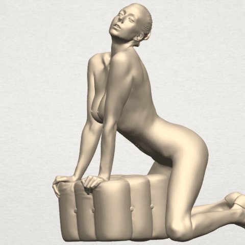 TDA0290 Naked Girl B07 09.png Télécharger fichier STL gratuit Fille Nue B07 • Objet pour imprimante 3D, GeorgesNikkei