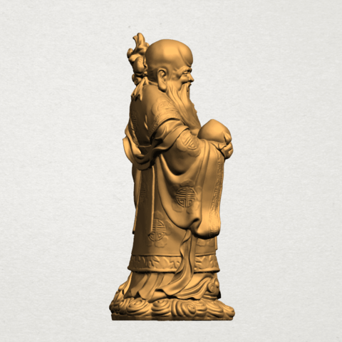 Sao (Fook Look Sao) 80mm - A05.png Download free STL file Sao (Fook Look Sao) • 3D printable model, GeorgesNikkei