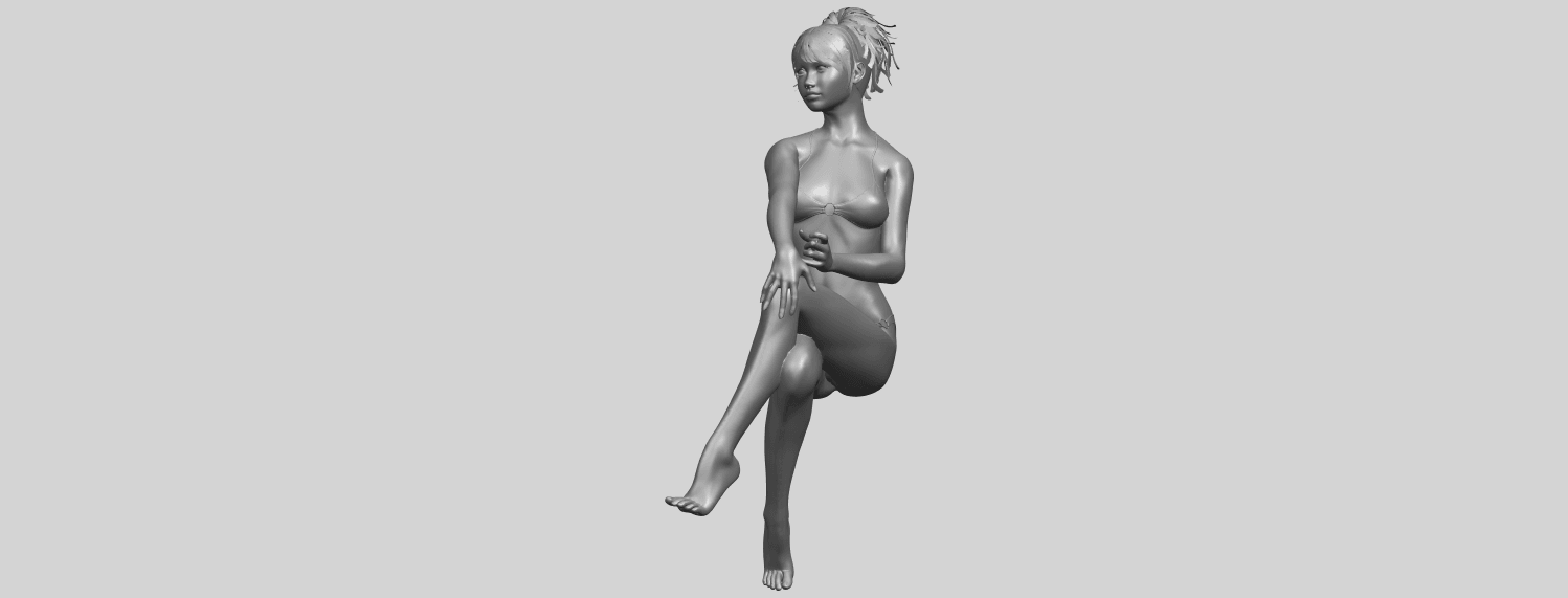 20_TDA0664_Naked_Girl_H02A05.png Download free STL file Naked Girl H02 • 3D print object, GeorgesNikkei