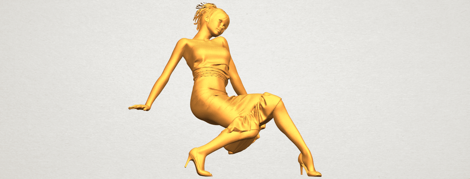 A10.png Download free STL file Naked Girl G05 • 3D printing object, GeorgesNikkei