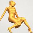 Télécharger fichier STL gratuit Fille nue G05 • Modèle pour impression 3D, GeorgesNikkei
