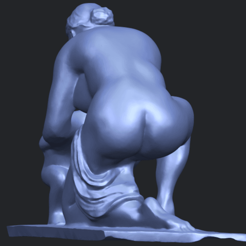 10_Mother-Child_(iv)_90mm_(repaired)B03.png Download free STL file Mother and Child 04 • 3D print template, GeorgesNikkei