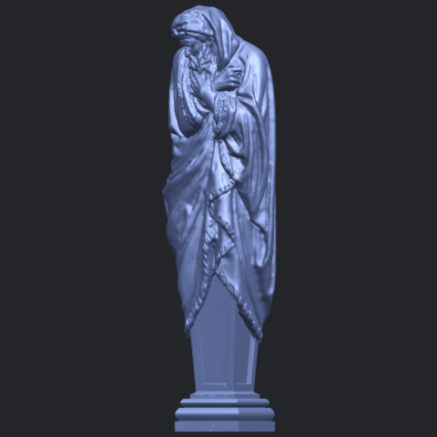11_TDA0259_Sculpture_WinterB02.png Download free STL file Sculpture - Winter 01 • 3D printable object, GeorgesNikkei
