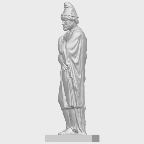 17_TDA0266_Tiridates_I_of_ArmeniaA04.png Download free STL file Tiridates I of Armenia • 3D print model, GeorgesNikkei
