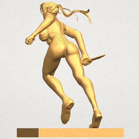 TDA0586 Sexy Girl 09 A03.png Download free STL file Sexy Girl 09 • 3D printing template, GeorgesNikkei
