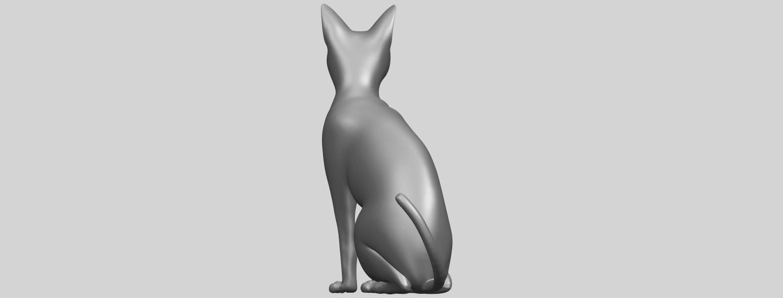 02_TDA0576_Cat_01A06.png Télécharger fichier STL gratuit Chat 01 • Modèle pour imprimante 3D, GeorgesNikkei