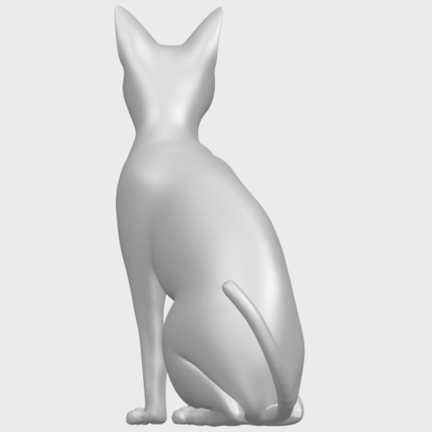 02_TDA0576_Cat_01A06.png Download free STL file Cat 01 • Design to 3D print, GeorgesNikkei