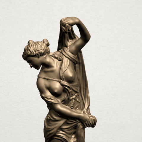 Naked Girl (vii) A09.png Download free STL file Naked Girl 07 • 3D printable design, GeorgesNikkei