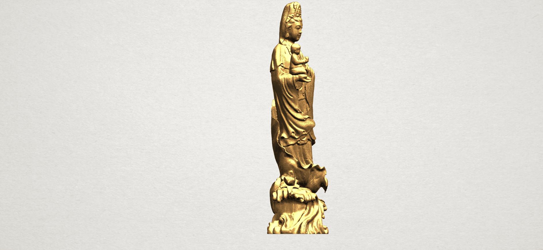Avalokitesvara Buddha  award kid (i) A08.png Download free STL file Avalokitesvara Bodhisattva - award kid 01 • 3D print object, GeorgesNikkei