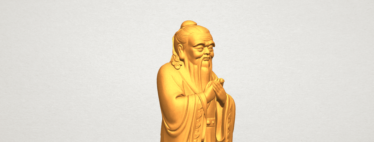TDA0341 Confucius A08.png Download free STL file Confucius • 3D printable model, GeorgesNikkei