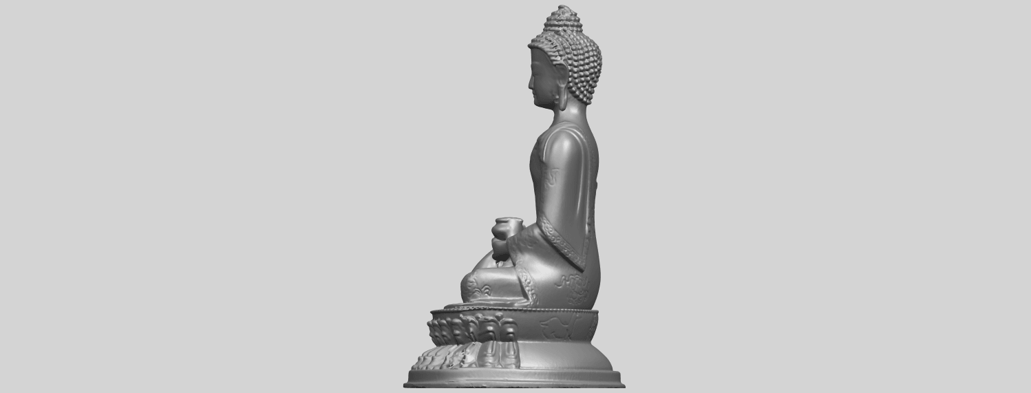 15_TDA0173_Thai_Buddha_(iii)_88mmA04.png Download free STL file Thai Buddha 03 • 3D printing object, GeorgesNikkei