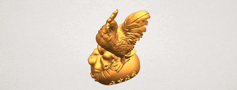 TDA0321 Cock A08.png Télécharger fichier STL gratuit Coq 01 • Design pour impression 3D, GeorgesNikkei