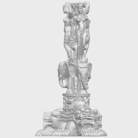 09_Thai_Elephant_Tower_80mm_-_A01A04.png Télécharger fichier STL gratuit Tour de l'éléphant thaïlandais • Modèle pour impression 3D, GeorgesNikkei