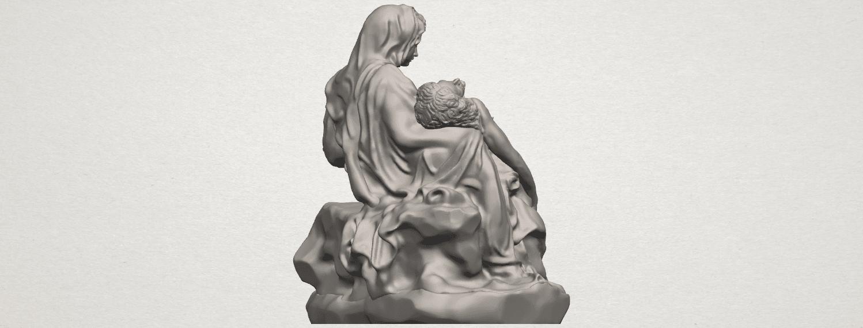 TDA0238 La Pieta A06.png Télécharger fichier STL gratuit La Pieta • Modèle pour impression 3D, GeorgesNikkei