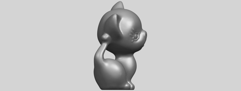 TDA0746_Cat_03A09.png Télécharger fichier STL gratuit Chat 03 • Modèle à imprimer en 3D, GeorgesNikkei