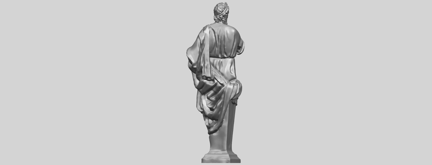 06_TDA0460_Plato_ex1900A07.png Download free STL file Plato • 3D printing template, GeorgesNikkei