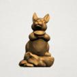 Chinese Horoscope04-A02.png Télécharger fichier STL gratuit Horoscope Chinois 04 Lapin • Design à imprimer en 3D, GeorgesNikkei