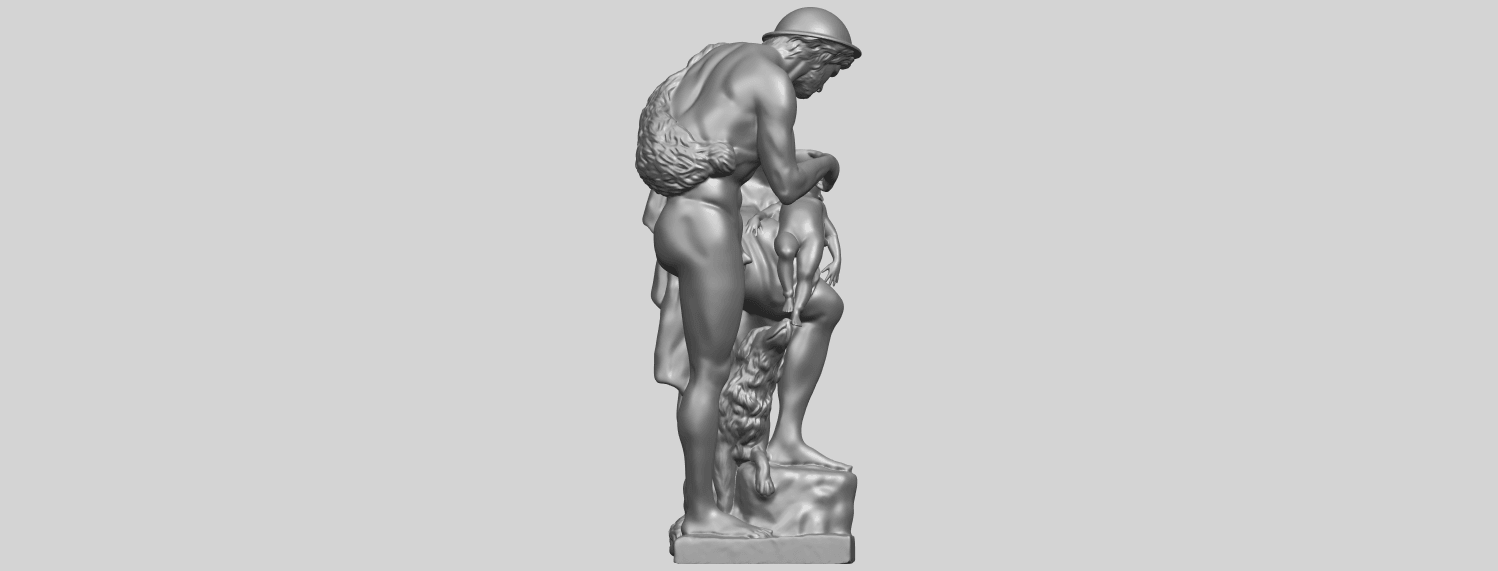 20_TDA0221_Father_and_Son_(iii)_88mmA09.png Download free STL file Father and Son 3 • 3D print model, GeorgesNikkei