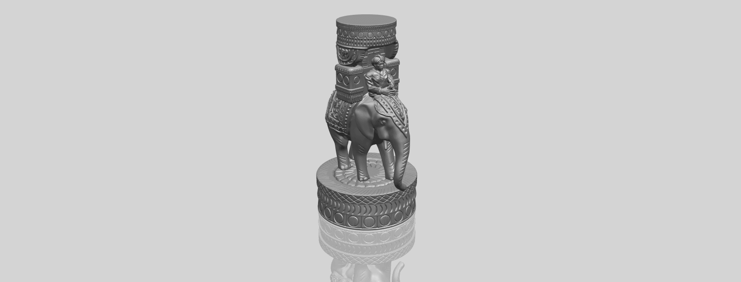 TDA0731_Elephant_08A00-1.png Download free STL file Elephant 08 • 3D printable template, GeorgesNikkei