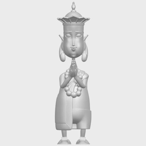 14_TDA0245_Pilgrimage-Tang_SengA01.png Download free STL file Pilgrimage-Tang Seng • 3D printable template, GeorgesNikkei