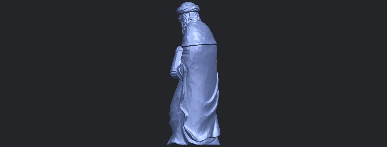 26_Sculpture_of_Arabian_88mm-B04.png Download free STL file Sculpture of Arabian • 3D print template, GeorgesNikkei
