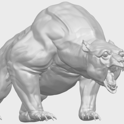 15_TDA0744_Bear_02A08.png Download free STL file  Bear 02 • 3D print model, GeorgesNikkei