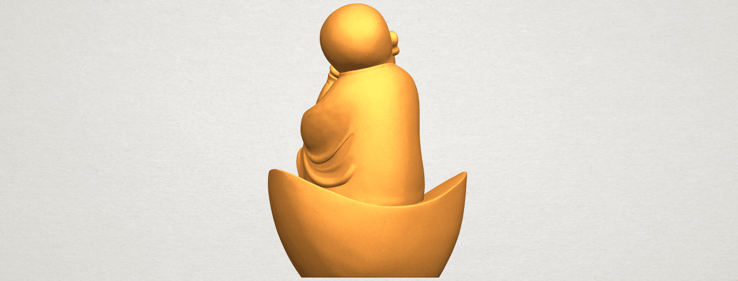 A06.png Télécharger fichier STL gratuit Petit Moine 04 • Modèle imprimable en 3D, GeorgesNikkei