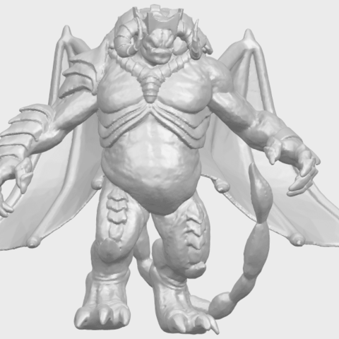 18_TDA0217_Monster_iA01.png Download free STL file Monster 01 • 3D printable template, GeorgesNikkei