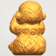 A06.png Download free STL file Monkey A03 • 3D printable model, GeorgesNikkei