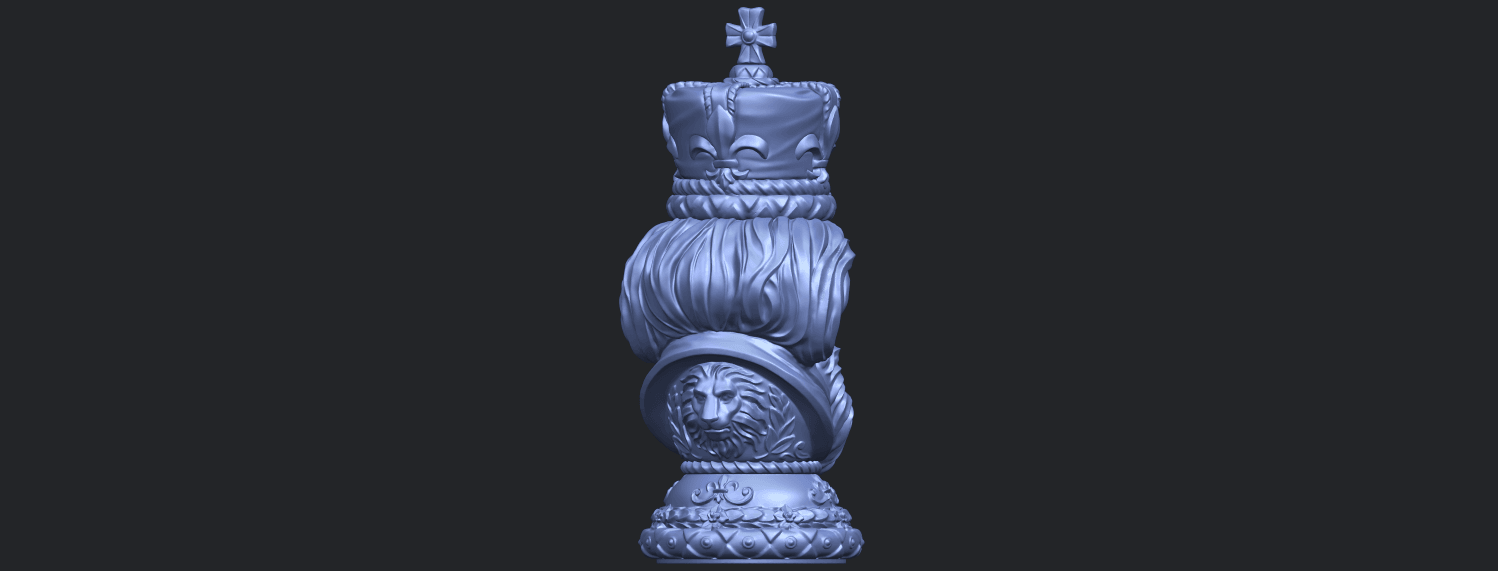06_TDA0254_Chess-The_KingB07.png Download free STL file Chess-The King • 3D printer model, GeorgesNikkei