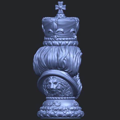 06_TDA0254_Chess-The_KingB07.png Télécharger fichier STL gratuit Chess-Le roi des échecs • Objet pour impression 3D, GeorgesNikkei