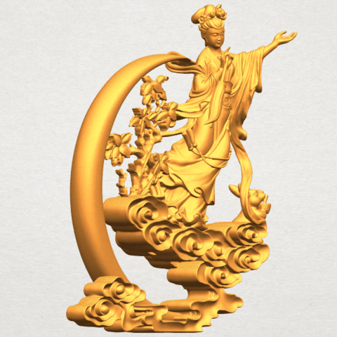 A10.png Download free STL file Fairy 09 • Model to 3D print, GeorgesNikkei