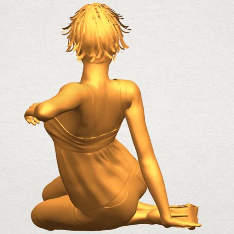 A06.png Télécharger fichier STL gratuit Fille Nue F06 • Modèle pour impression 3D, GeorgesNikkei