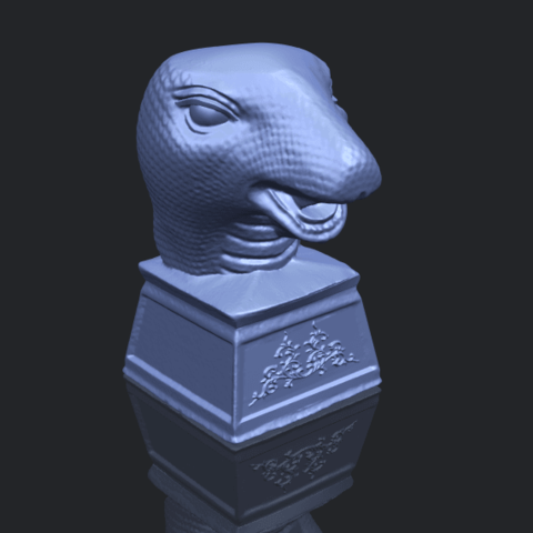 19_TDA0513_Chinese_Horoscope_of_Snake.02B00-1.png Download free STL file Chinese Horoscope of Snake 02 • 3D printer design, GeorgesNikkei
