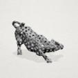 Download free STL files Voronoi Bull, GeorgesNikkei