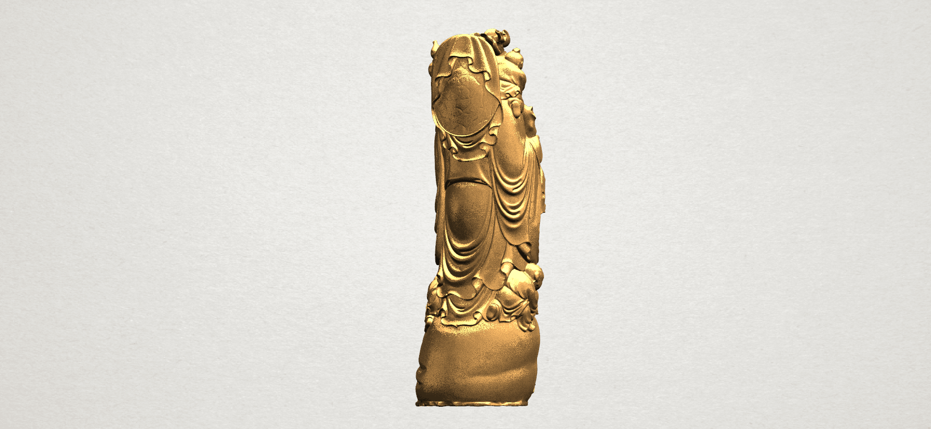 TDA0070 Metteyya Buddha 02 - 88mm - A05.png Download free STL file Metteyya Buddha 02 • 3D printer object, GeorgesNikkei