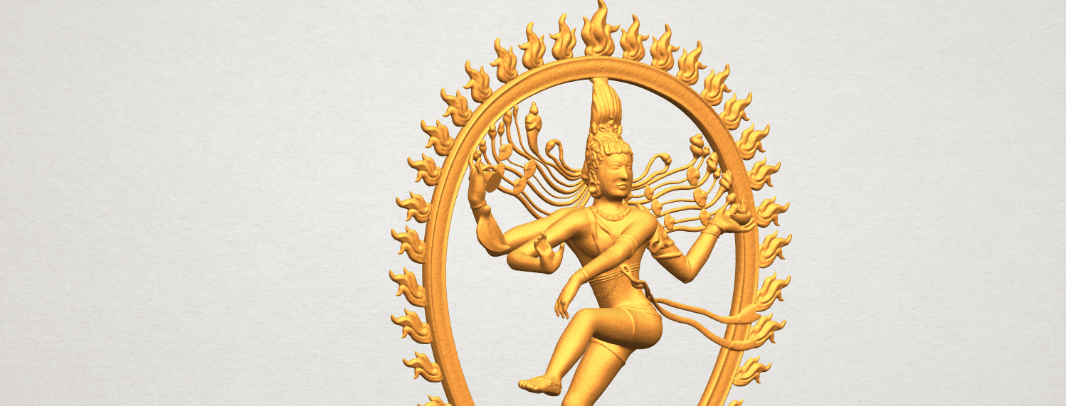 A11.png Download free STL file Shiva King • 3D printing template, GeorgesNikkei