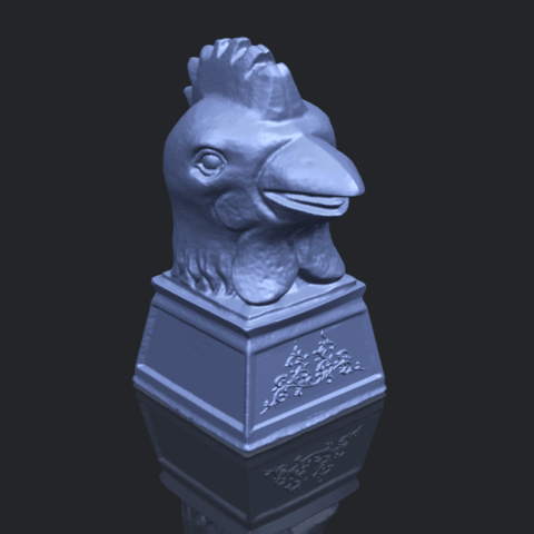 18_TDA0517_Chinese_Horoscope_of_Rooster_02B00-1.png Download free STL file Chinese Horoscope of Rooster 02 • 3D printable object, GeorgesNikkei