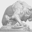 16_Lion_(iii)_with_snake_60mm-A08.png Télécharger fichier STL gratuit Lion 03 - avec serpent • Modèle imprimable en 3D, GeorgesNikkei