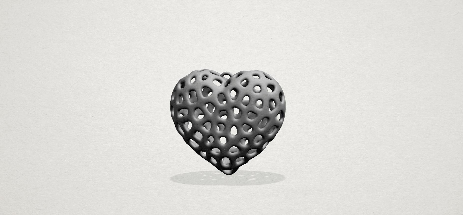 Necklaces -Voronoi Heart- A02.png Télécharger fichier STL gratuit Colliers -Voronoi Coeur de Voronoi • Plan pour imprimante 3D, GeorgesNikkei