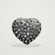 Download free 3D printing models Necklaces -Voronoi Heart, GeorgesNikkei