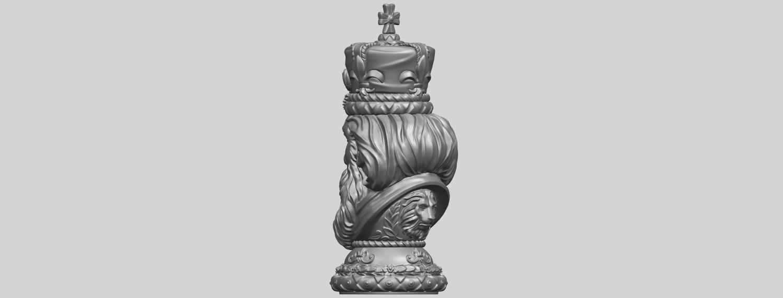 06_TDA0254_Chess-The_KingA05.png Télécharger fichier STL gratuit Chess-Le roi des échecs • Objet pour impression 3D, GeorgesNikkei