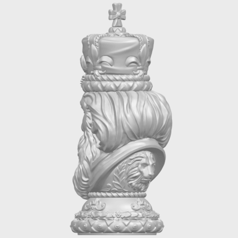 06_TDA0254_Chess-The_KingA05.png Download free STL file Chess-The King • 3D printer model, GeorgesNikkei