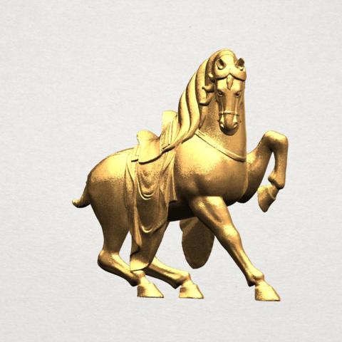 Horse III - B02.png Télécharger fichier STL gratuit Cheval 03 • Design imprimable en 3D, GeorgesNikkei