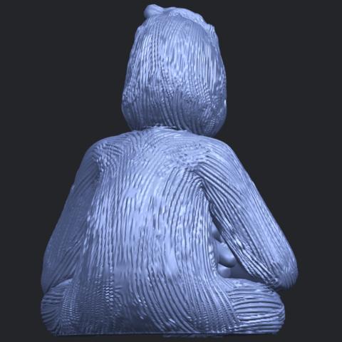09_TDA0606_ChimpanzeeB07.png Télécharger fichier STL gratuit Chimpanzé • Design imprimable en 3D, GeorgesNikkei