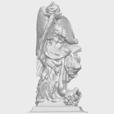 17_TDA0206_Angel_viA09.png Télécharger fichier STL gratuit Ange 06 • Modèle pour imprimante 3D, GeorgesNikkei