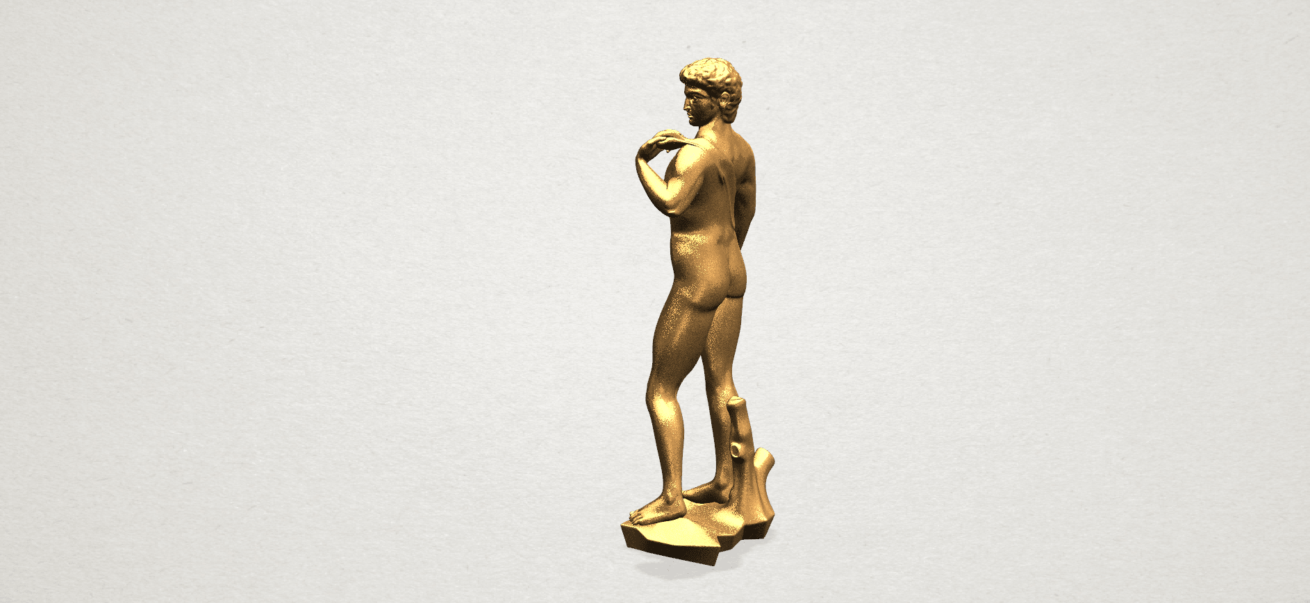 Michelangelo(i) -B03.png Download free STL file Michelangelo 01 • 3D printable template, GeorgesNikkei
